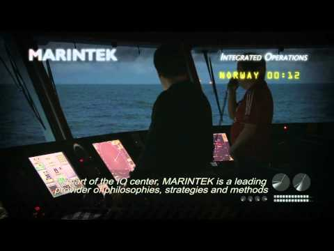 Marintek Integrated operations
