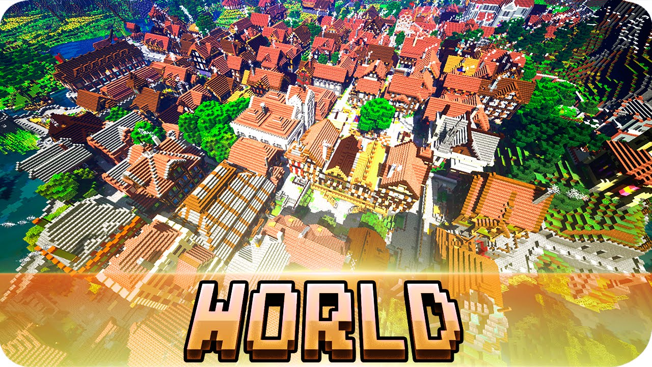 Minecraft The Great Medieval World Cinematic Download Map