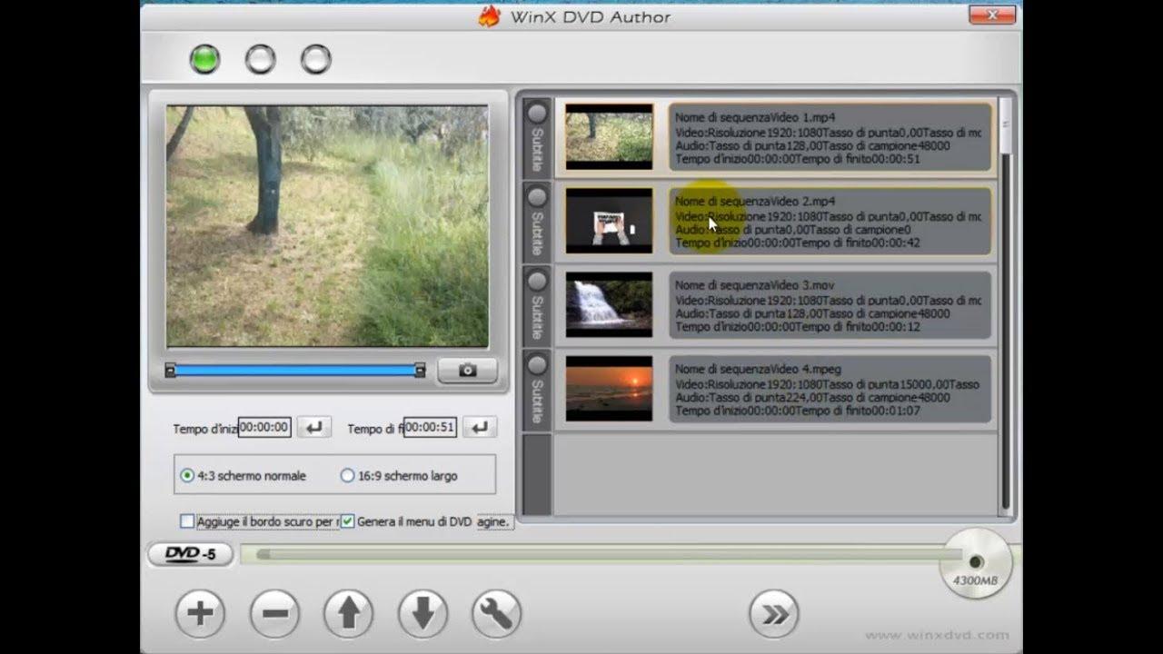 video da youtube e masterizzare su dvd
