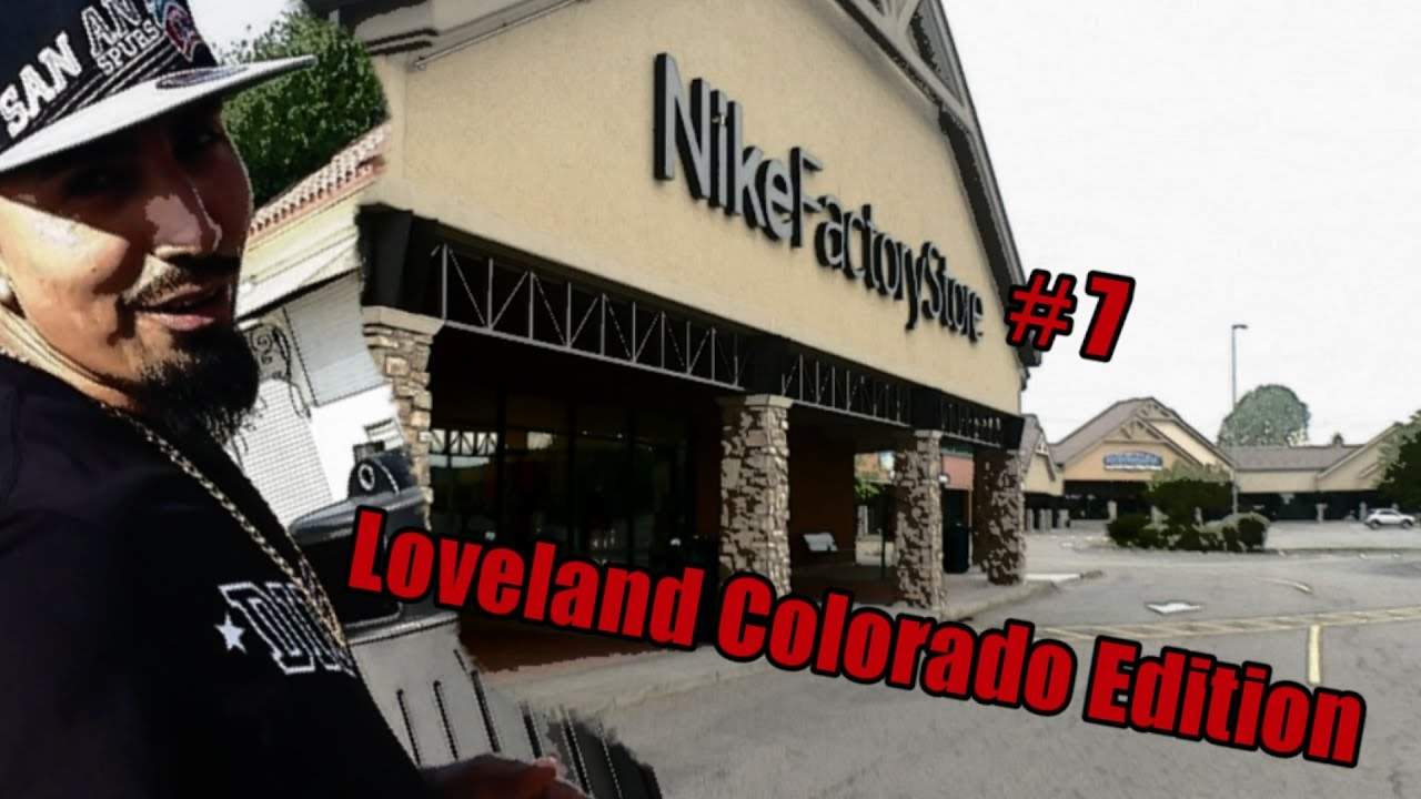 65a0dc47d9821 Trip to the Nike outlet  7 - Loveland Colorado Edition!!! - YouTube