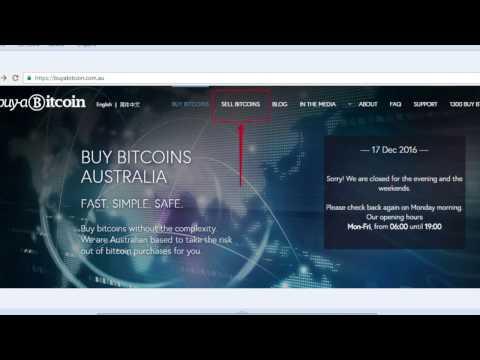 How To Sell Bitcoin On Buyabitcoin.com.au