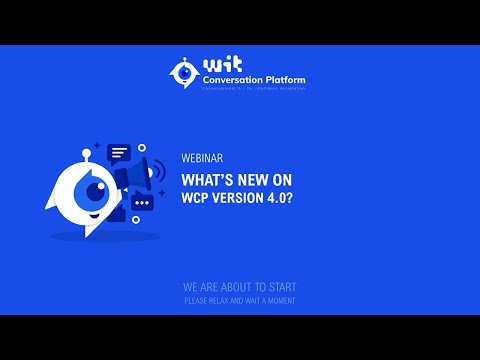 What's new in version 4.0 of WIT Conversation Platform