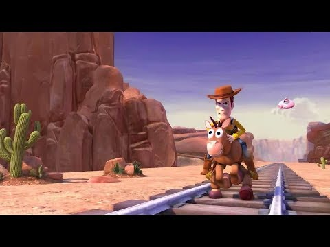 Toy Story 3: The Video Game (PC) Walkthrough Part 1 - Train Rescue