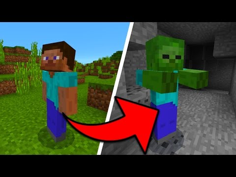 How To Turn Into Any Mob In Minecraft Pocket Edition Shape Shifter Mod