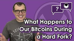 Bitcoin Q&A: What happens to our bitcoins during a hard fork?