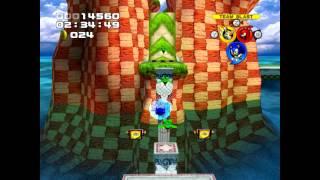 Sonic Heroes PC - Seaside Hill Super Hard Mode 1080p