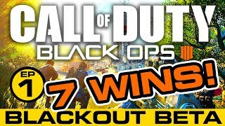 CALL OF DUTY BLACKOUT // COD Black Ops 4  Battle Royal // 7 WINS! // ep.1
