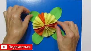 Красивые Подарки Своими Руками Маме, Учителю, Бабушке. Из Бумаги Красивые Цветы Поделки с Детьми