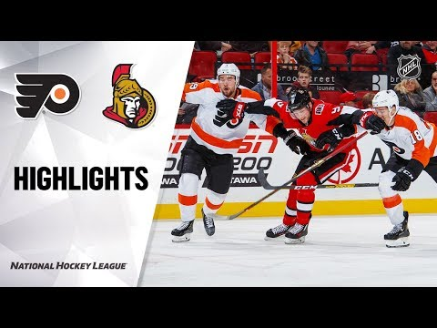 NHL Highlights | Flyers @ Senators 11/15/19