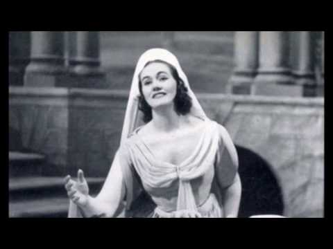 Young Joan Sutherland sings the Israelite Woman with breathtaking speed and huge end D6