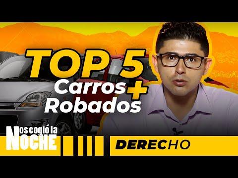 Top 5 De Los Carros Más Robados En Medellín - Nos Cogió La Noche