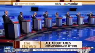 Matt Lewis breaks down the Iowa debate on MSNBC