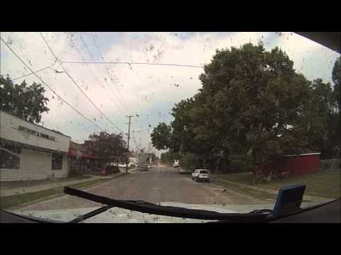 Hammer Down With Len Dubois Trucking - Trip 12 Part 1 - Winnipeg Trucking Company Trip Video