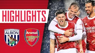 HIGHLIGHTS Tierney Saka and Laca all find the net West Brom 0 4 Arsenal Premier League