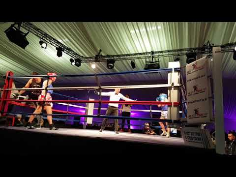 Tracy Adlam at the WCB Women's Charity Boxing