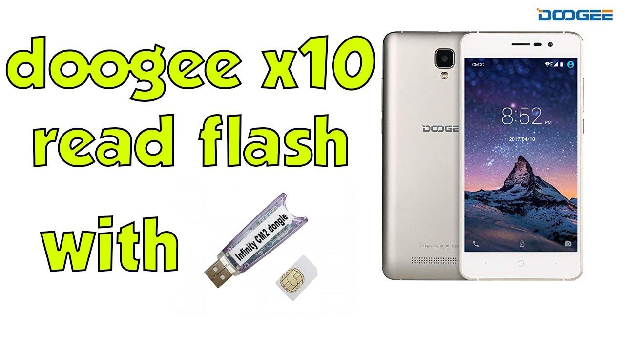 doogee x10 read flash with InfinityBox CM2MT2