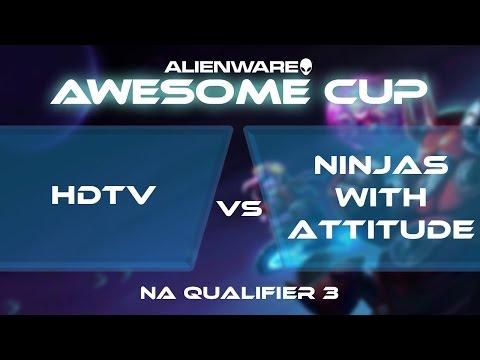 Ninjas With Attitude vs HDTV - AAC2: NA Qualifier 3