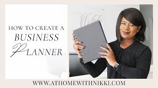 HOW TO CREATE A BUSINESS PLAN / PLANNER | ENTREPRENEURSHIP 101 | SERIES TWO