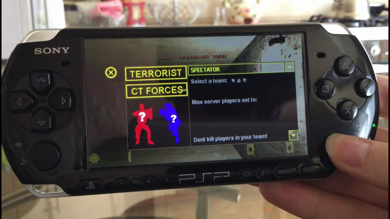 psp counter strike download