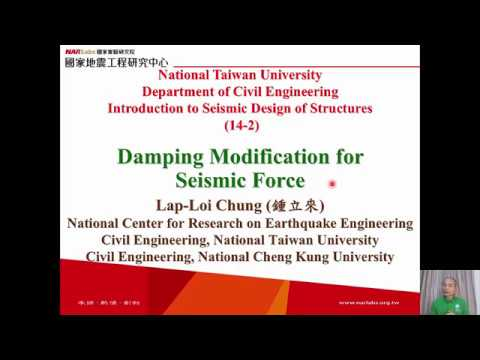 1061-NTU-SDS-14-2-Damping Modification for Seismic Force - Lap-Loi Chung