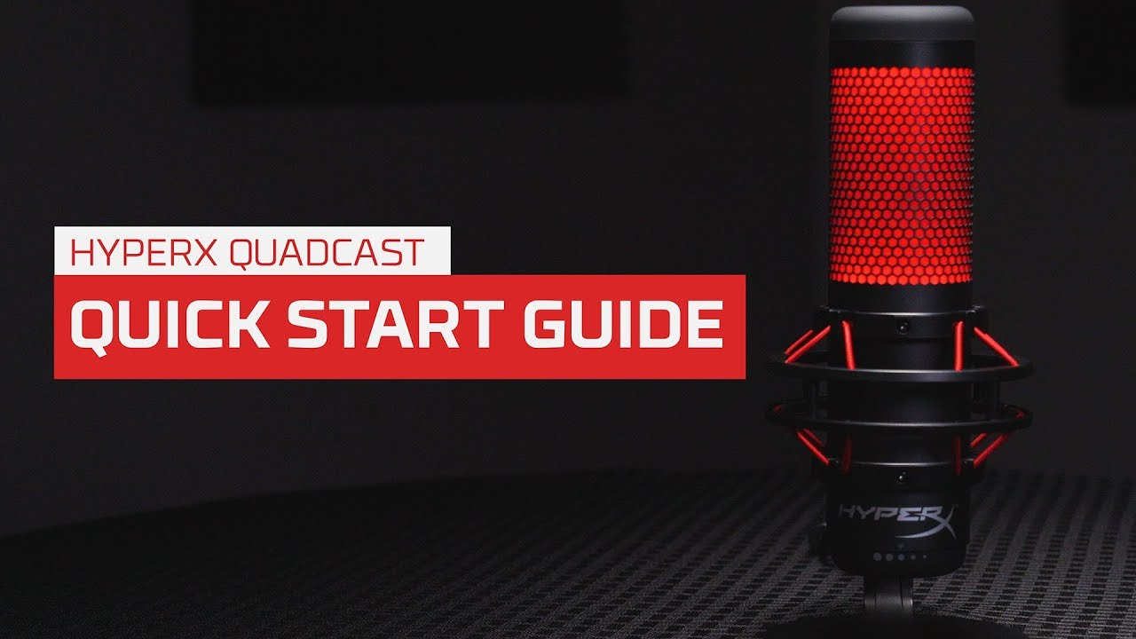 How to Use the HyperX QuadCast Microphone