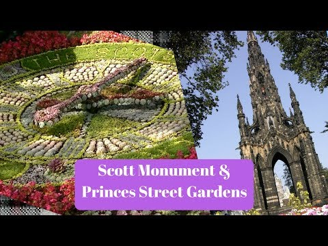 Tour of Scott Monument and Princes street gardens | Edinburgh tours