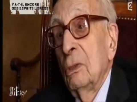 """Claude Lévi-Strauss: """"Ce n'est pas un monde que j'aime"""""""