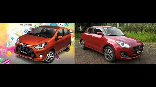 Auto Focus | Head to Head: Suzuki Swift GLX CVT VS Toyota Wigo 1.0 G MT