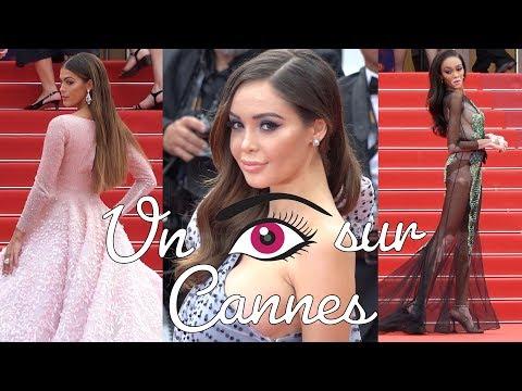 Un oeil sur Cannes : Iris Mittenaere, Winnie Harlow, Nabilla... girl power !