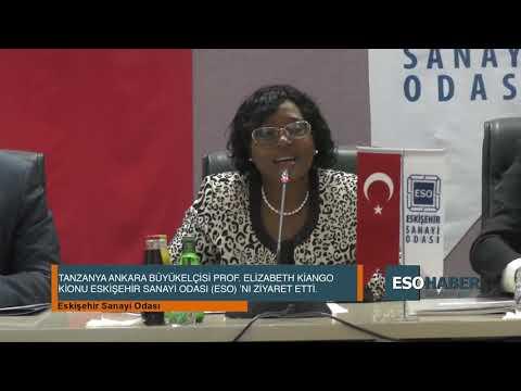 TANZANIA AMBASSADOR IN TURKEY PROF. KIONDO VISITED ESO