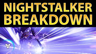 Planet Destiny: Nightstalker Subclass Overview (New Gameplay)