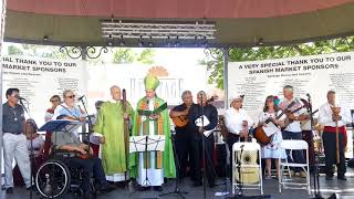 Santa Fe Spanish Market 2018 - Archbishop Webster blessing of Market