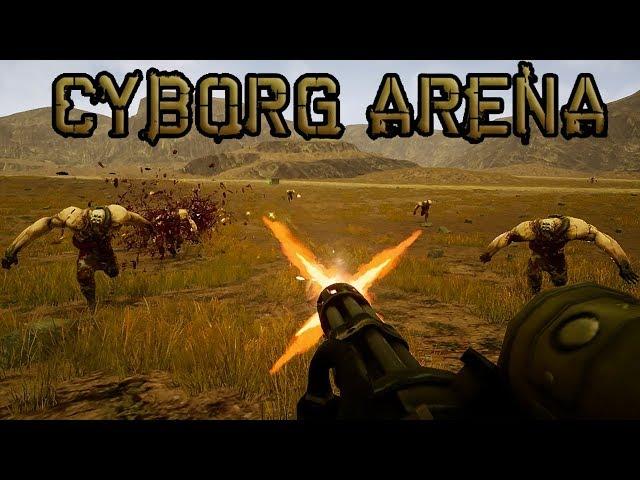 CYBORG ARENA UE4 Gameplay