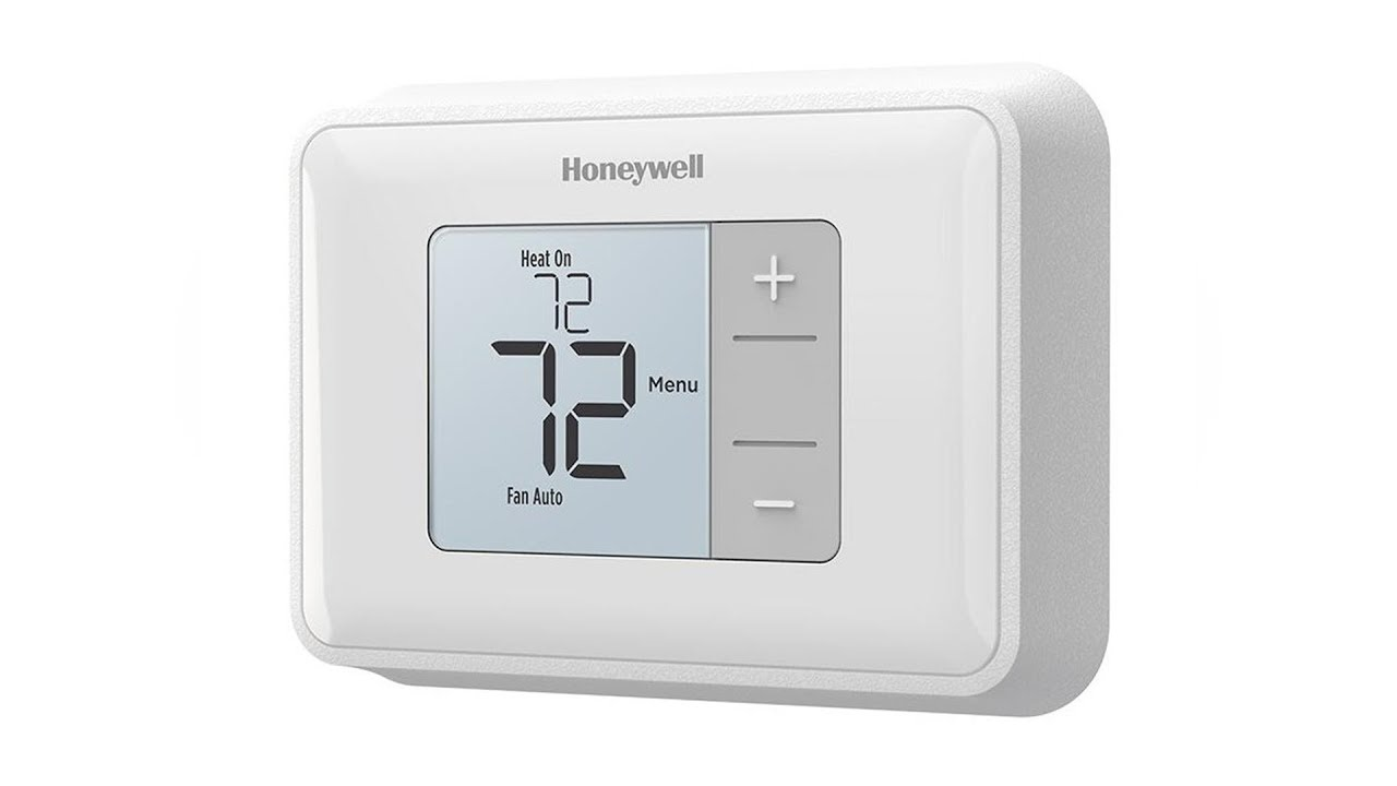 honeywell simple display non programmable thermostat rth5160d1003  [ 1280 x 720 Pixel ]