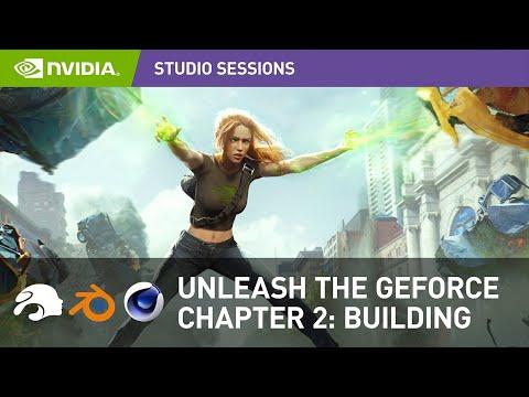 How To Create Professional Key Art With Wojtek Fus Part 2: Building | NVIDIA Studio Sessions
