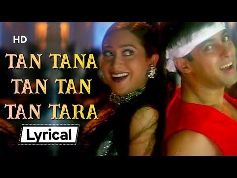Tan Tana Tan With Lyrics | तन तना तन | Judwaa (1997) | Salman Khan | Karishma Kapoor | Rambha