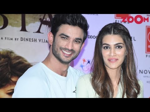 Sushant Singh Rajput & Kriti Sanon Too Busy For Each Other?