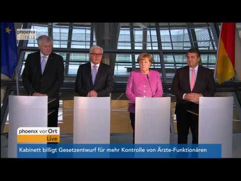 Gauck-Nachfolge: Pressekonferenz zur Präsentation von Frank-Walter Steinmeier am 16.11.2016
