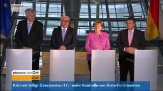 Pressekonferenz zur Präsentation von Frank-Walter Steinmeier am 16.11.2016