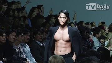[TD영상] 차승원(Cha Seung won)-배정남(Bae Jung Nam)-이기우(Lee Kiwoo)-이정신(Lee Jung Shin), 모델들 기죽이는 런웨이 (서울패션위크)