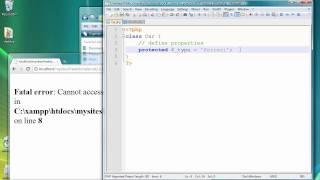 Nesne Sınıfları ve Yöntemleri Oluşturma 1 PHP Programlama - Ders Odaklı