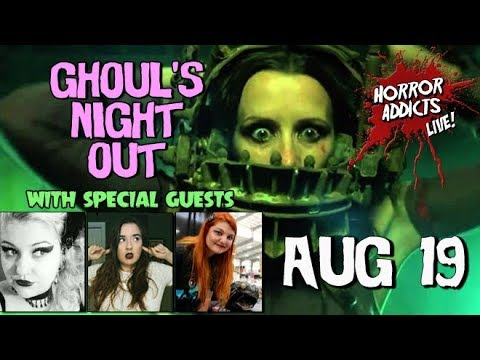 AMANDA & TIFFANY: WOMEN OF SAW & CHUCKY FILMS 💀 Ghoul's Night Out Livestream #19