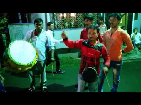 Kolkata Dhol Tasa at Santipur Asananda Para