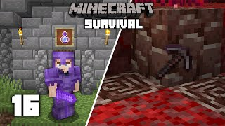 Minecraft: The BEST Way to Get Netherite (Ancient Debris) - 1.16 Survival Let's play | Ep 16