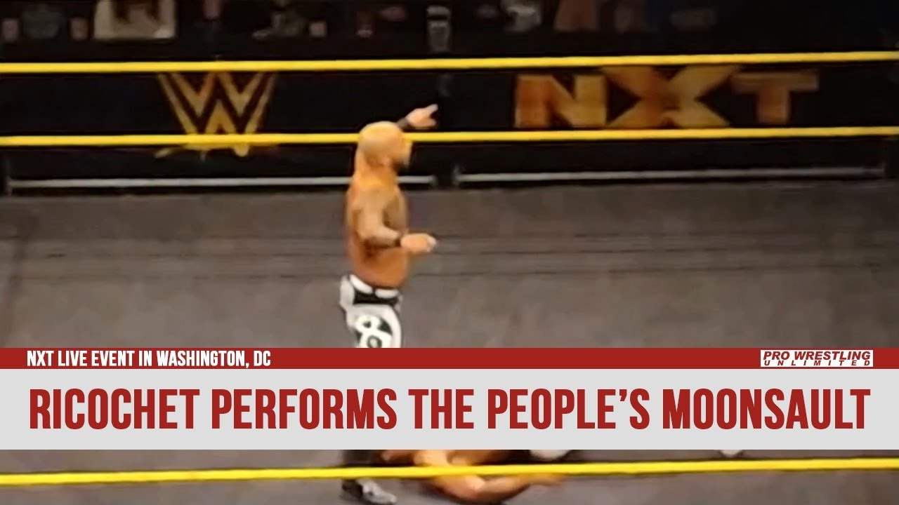Ricochet Performs The People's Moonsault (VIDEO)
