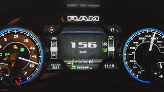 2019 Ram Limited Hemi | Acceleration Test |  ( 0-100 km/h | 0-60 mph )