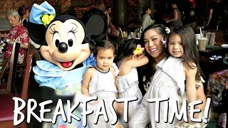 Breakfast with Minnie Mouse! - May 01, 2017 -  ItsJudysLife Vlogs