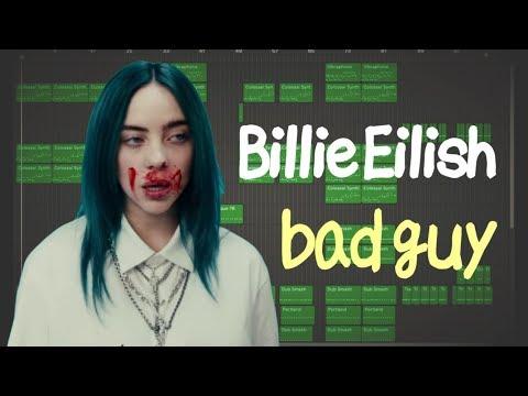 【GarageBand】Billie Eilish - bad guy [Full remake]