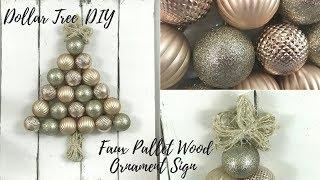 CHRISTMAS DIY AND DECOR CHALLENGE|THE DIY MOMMY|DOLLAR TREE RUSTIC GLAM CHRISTMAS DECOR