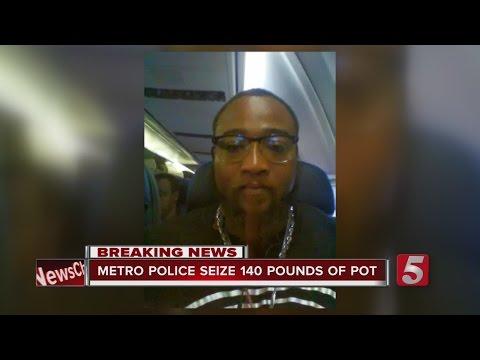 2 Arrested In 140-Pound Pot Bust In Nashville